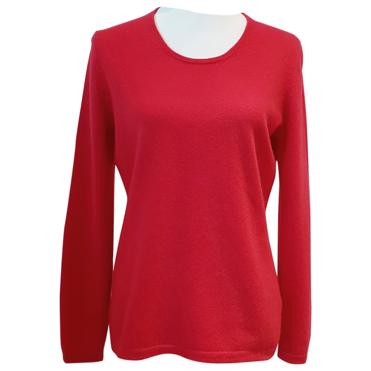 Non Signé / Unsigned \N Red Cashmere Knitwear for Women L International