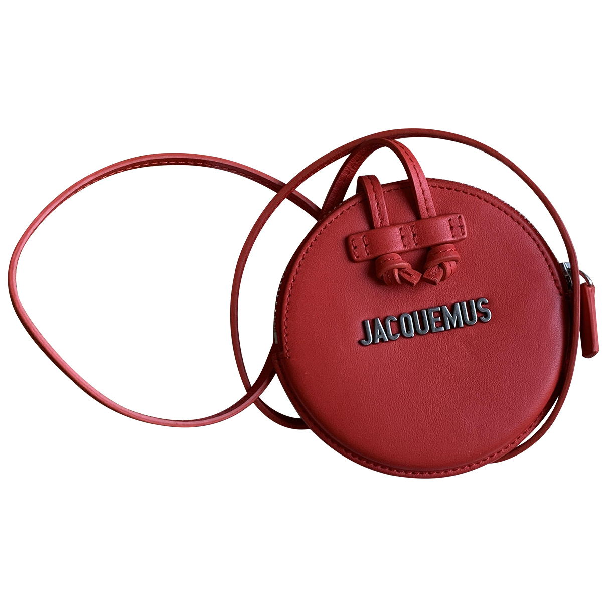 Jacquemus Le Pitchou Red Leather handbag for Women \N