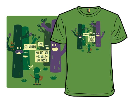 The Lost Woods Are Jerks! T Shirt