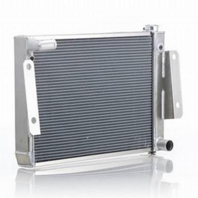 Be Cool Replacement Aluminum Radiator for GM V8 Engines with Manual Transmission - 60222