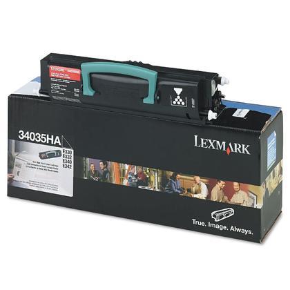 Lexmark 34035HA 12A8305 12A8400 cartouche de toner original noire haute capacité