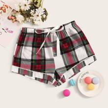 Tartan Sleep Shorts