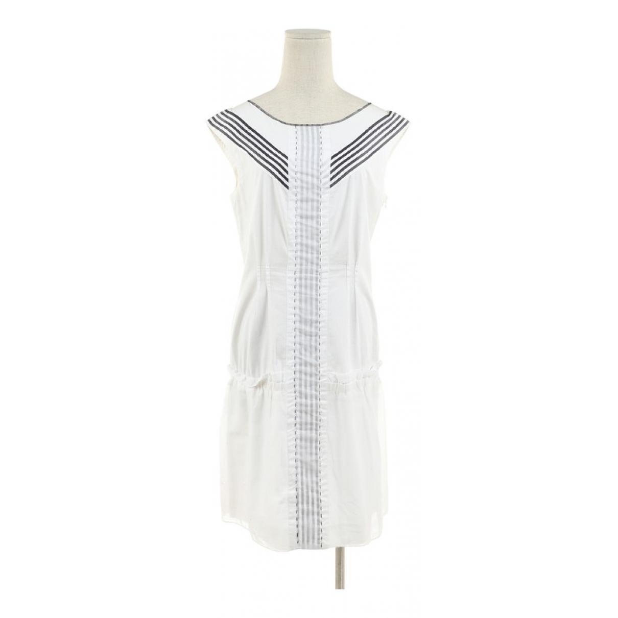 Philosophy Di Alberta Ferretti \N White Cotton dress for Women 40 IT