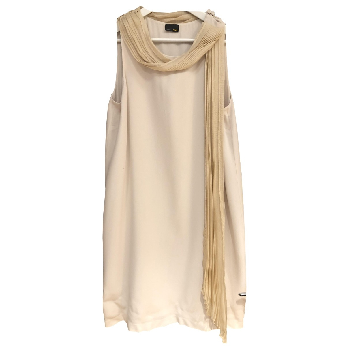 Fendi \N \N Silk dress for Women 44 IT