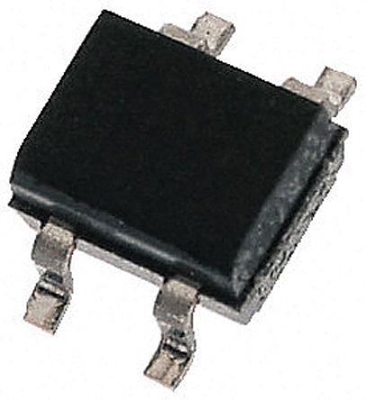 HY Electronic Corp ABS10, Bridge Rectifier, 800mA 1000V, 4-Pin ABS (100)