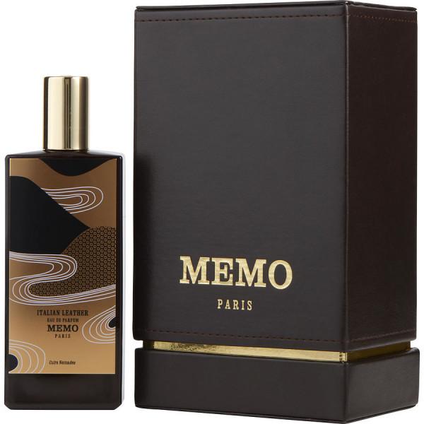 Memo Paris - Italian Leather : Eau de Parfum Spray 2.5 Oz / 75 ml