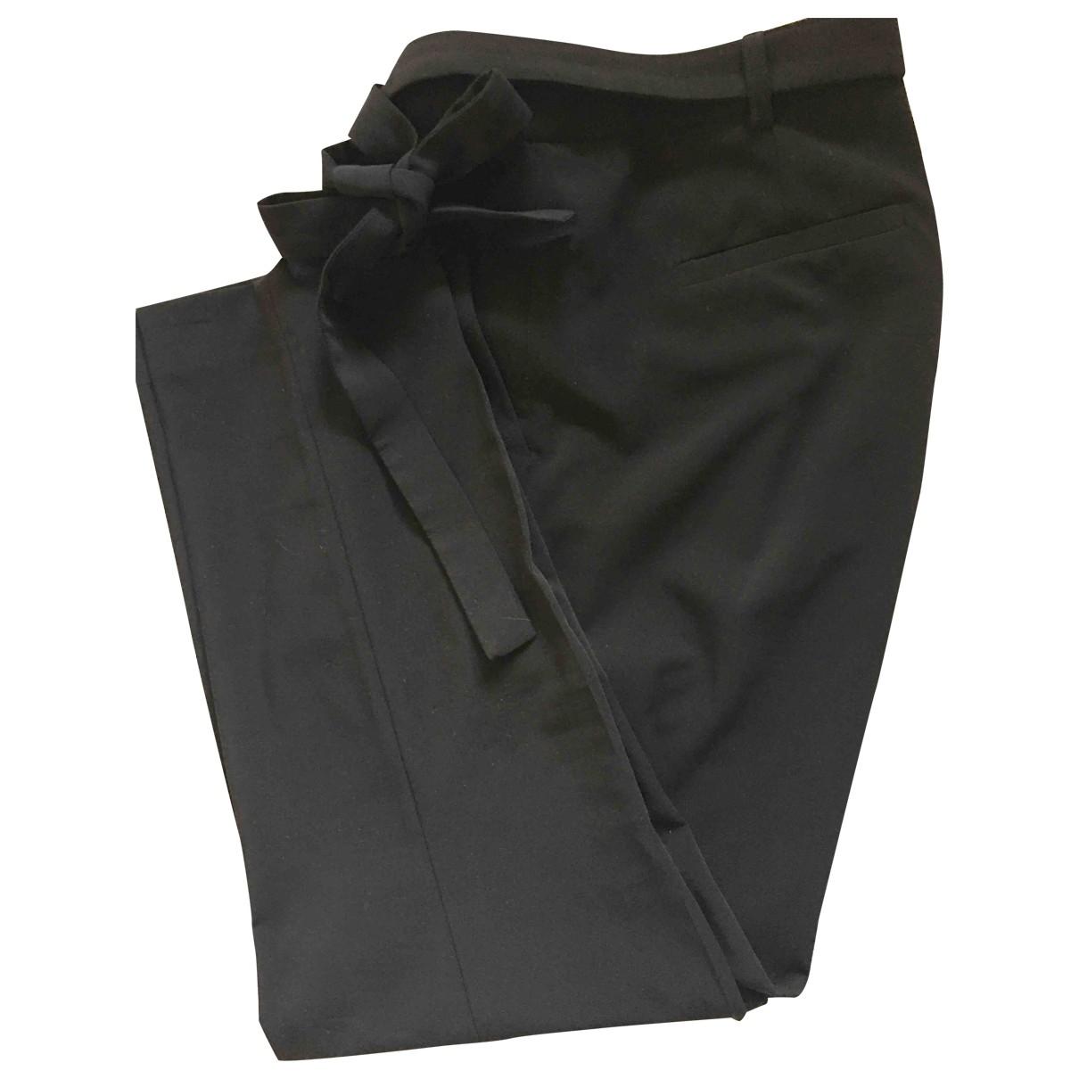 Gerard Darel \N Black Trousers for Women 42 FR