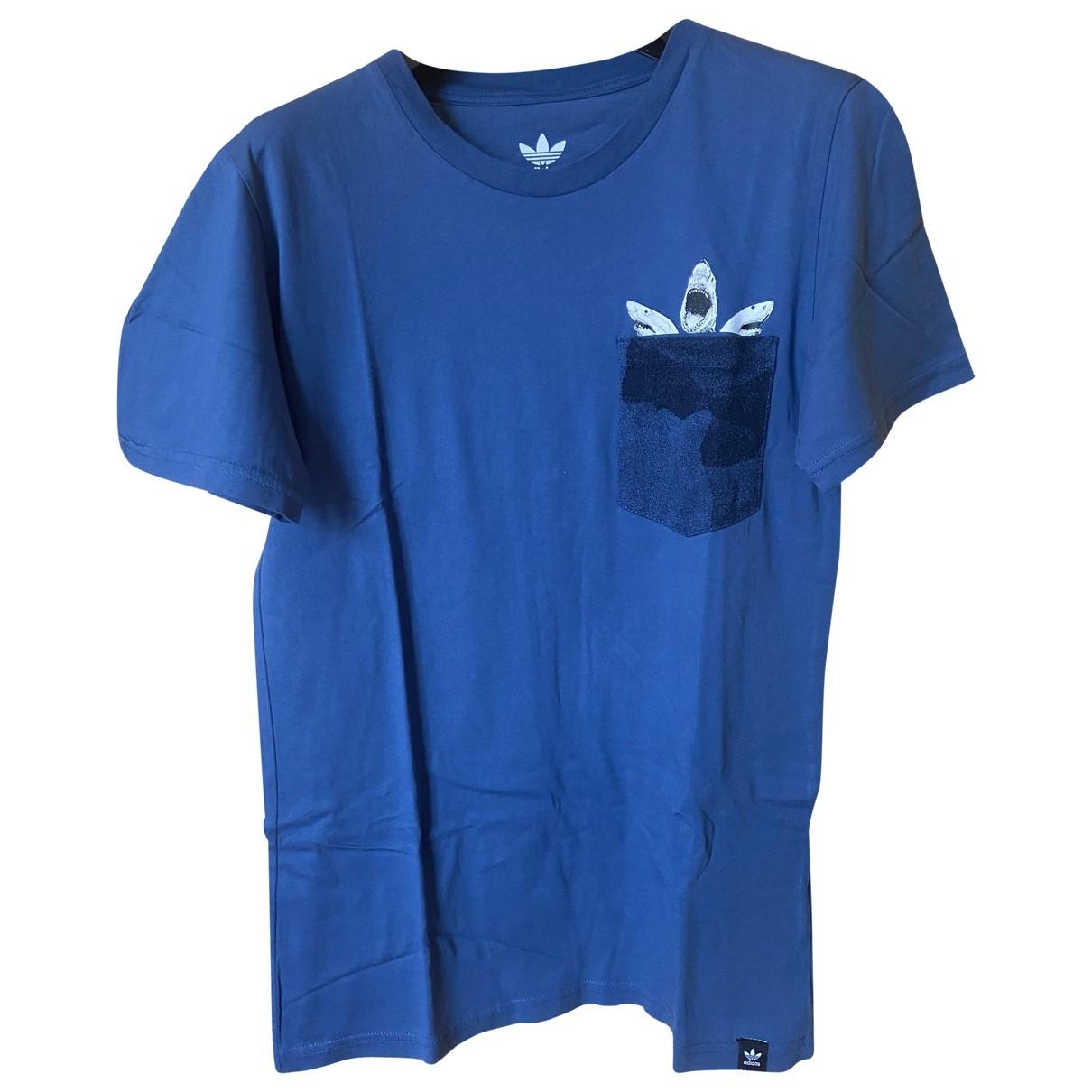 Adidas \N Blue Cotton T-shirts for Men S International