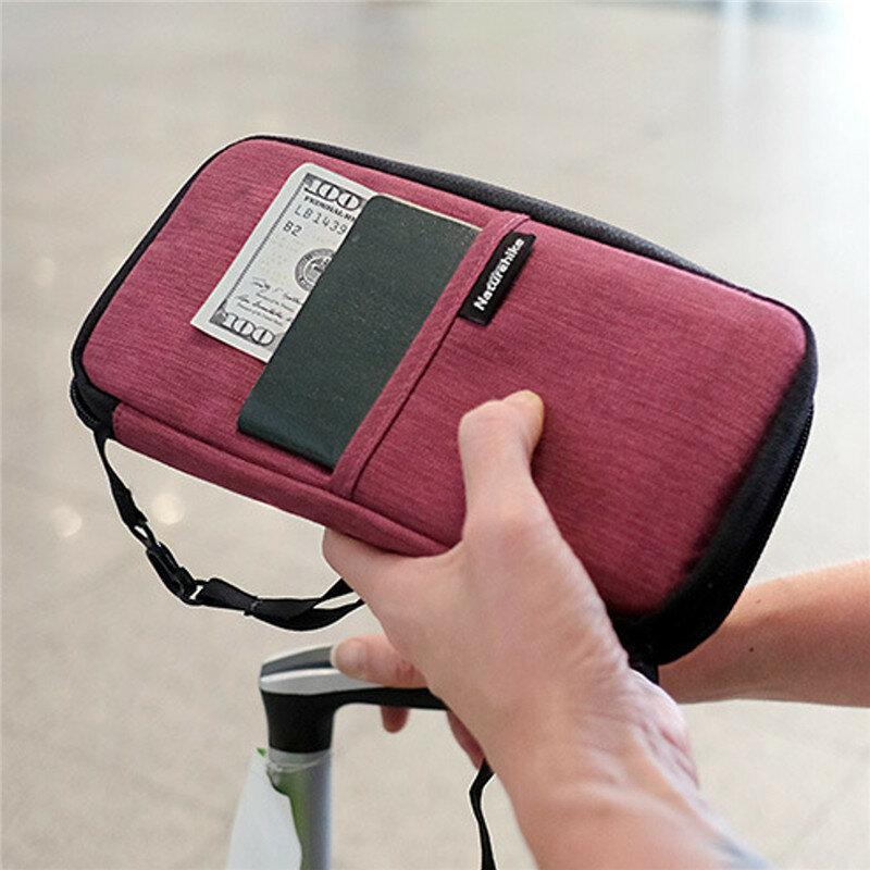 Women Men Waterproof Boarding Must-have Passport Bag Purse Wallet