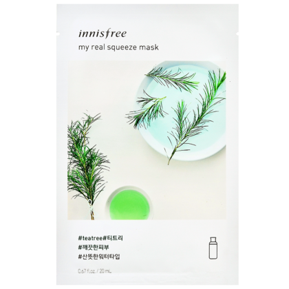 Innisfree My Real Squeeze Mask, Arbre à thé - 20ml. 1 pc