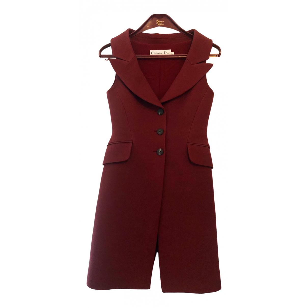 Dior \N Burgundy Wool dress for Women 36 FR