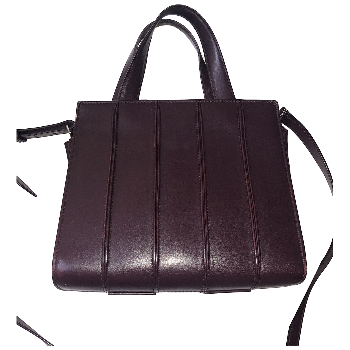 Max Mara \N Purple Leather handbag for Women \N