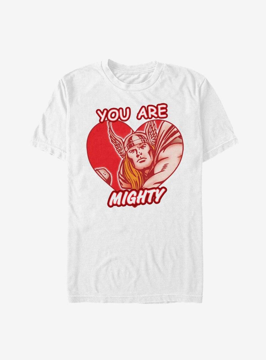 Marvel Thor Mighty Heart T-Shirt
