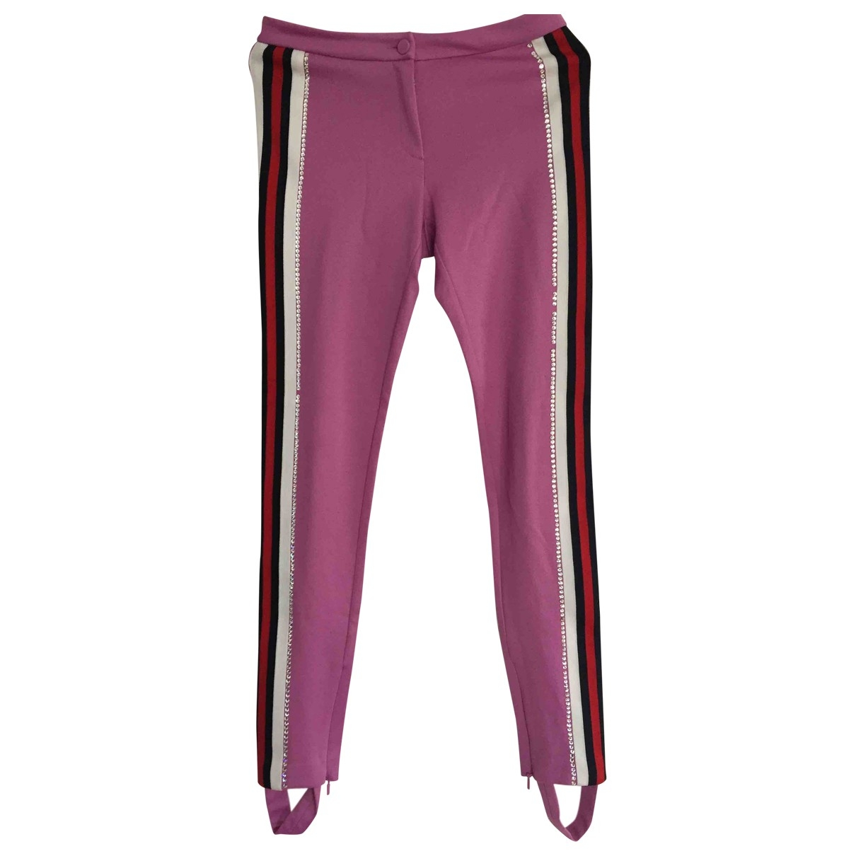 Gucci \N Pink Trousers for Women XXS International