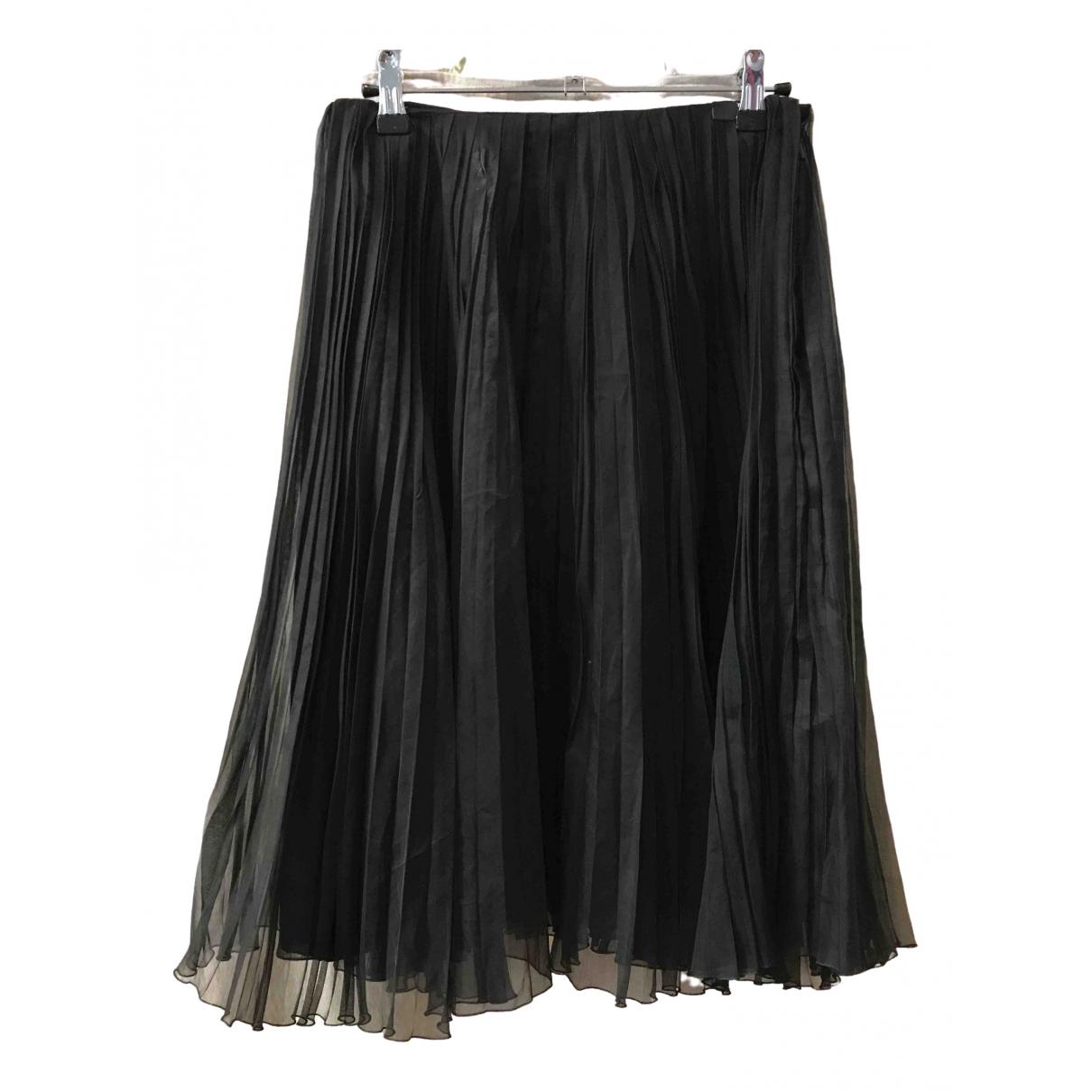 Chanel \N Black Silk skirt for Women 38 FR