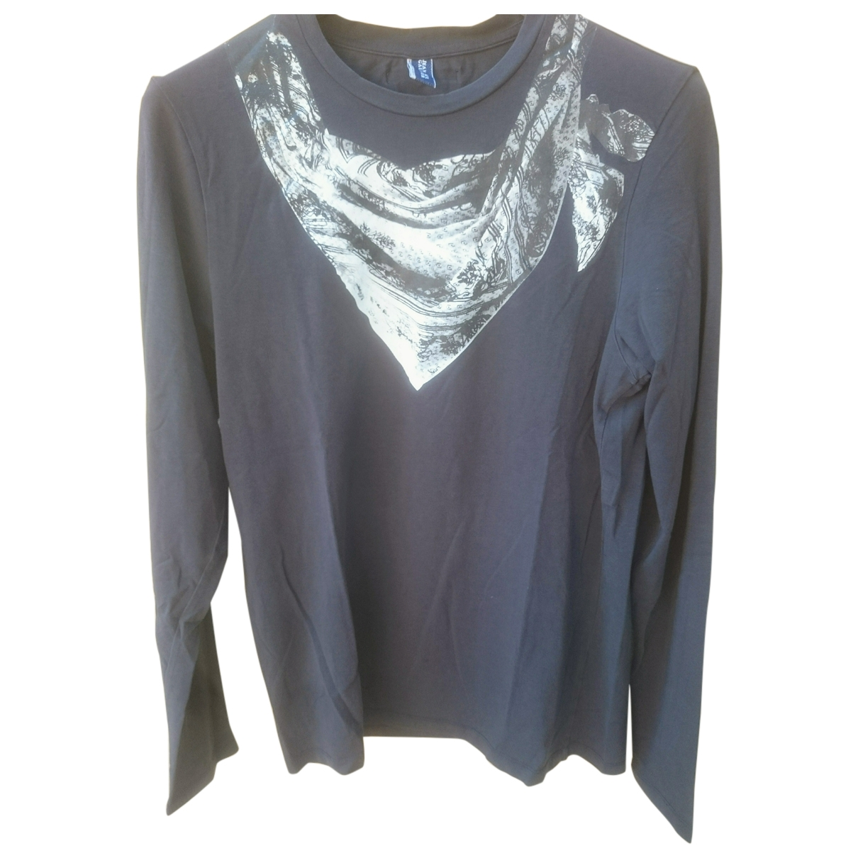 Jean Paul Gaultier \N Grey Cotton T-shirts for Men M International
