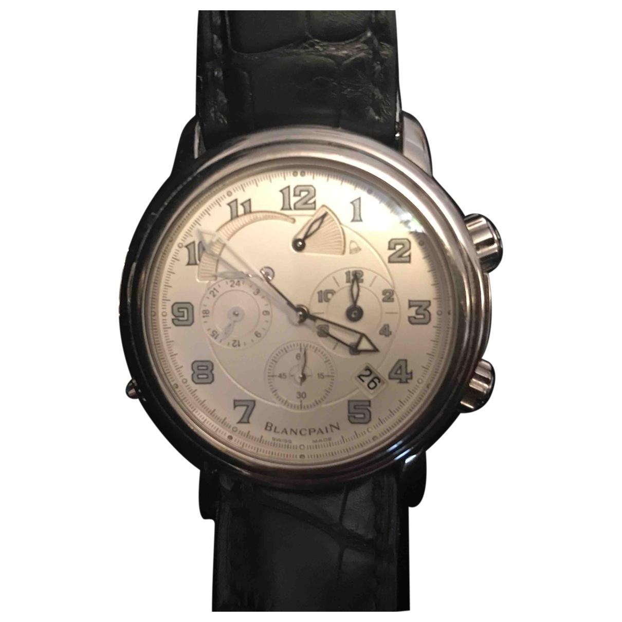 Blancpain \N Black White gold watch for Men \N