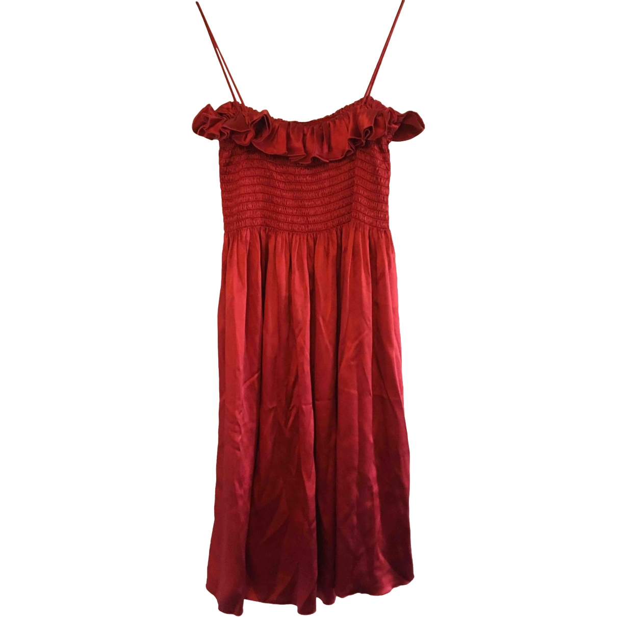 Joseph \N Red Silk dress for Women 42 FR