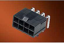 Molex , Mini-Fit Jr., 5569, 6 Way, 2 Row, Right Angle PCB Header (920)
