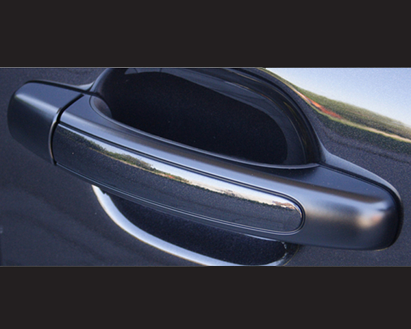 TechArt 048.121.371.009 Exterior Styling Door Handles Graphite Porsche Cayenne 955|957 with Keyless Entry 02-10