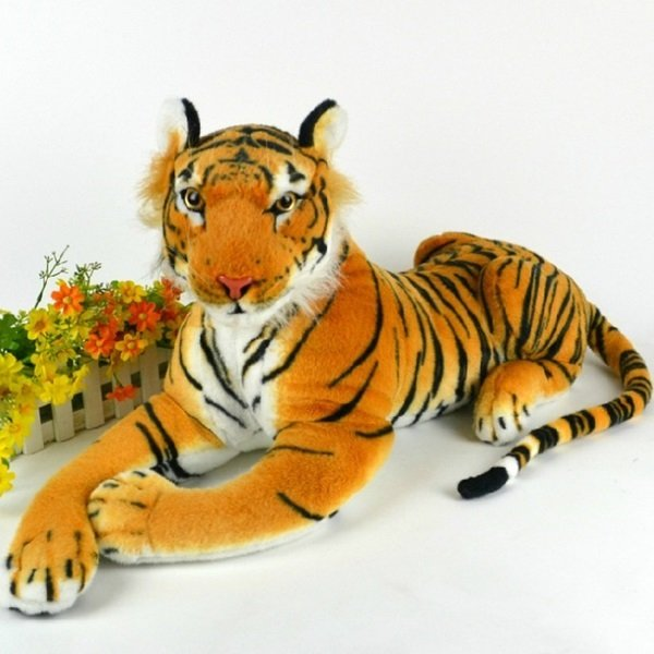 Artificial Tiger Plush Doll Cloth Kids Simulation Stuffed Toys