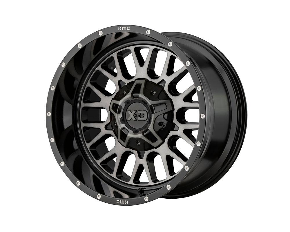 XD Series XD84221035318N XD842 Snare Wheel 20x10 5x5x127/5x139.7 -18mm Gloss Black Gray Tint