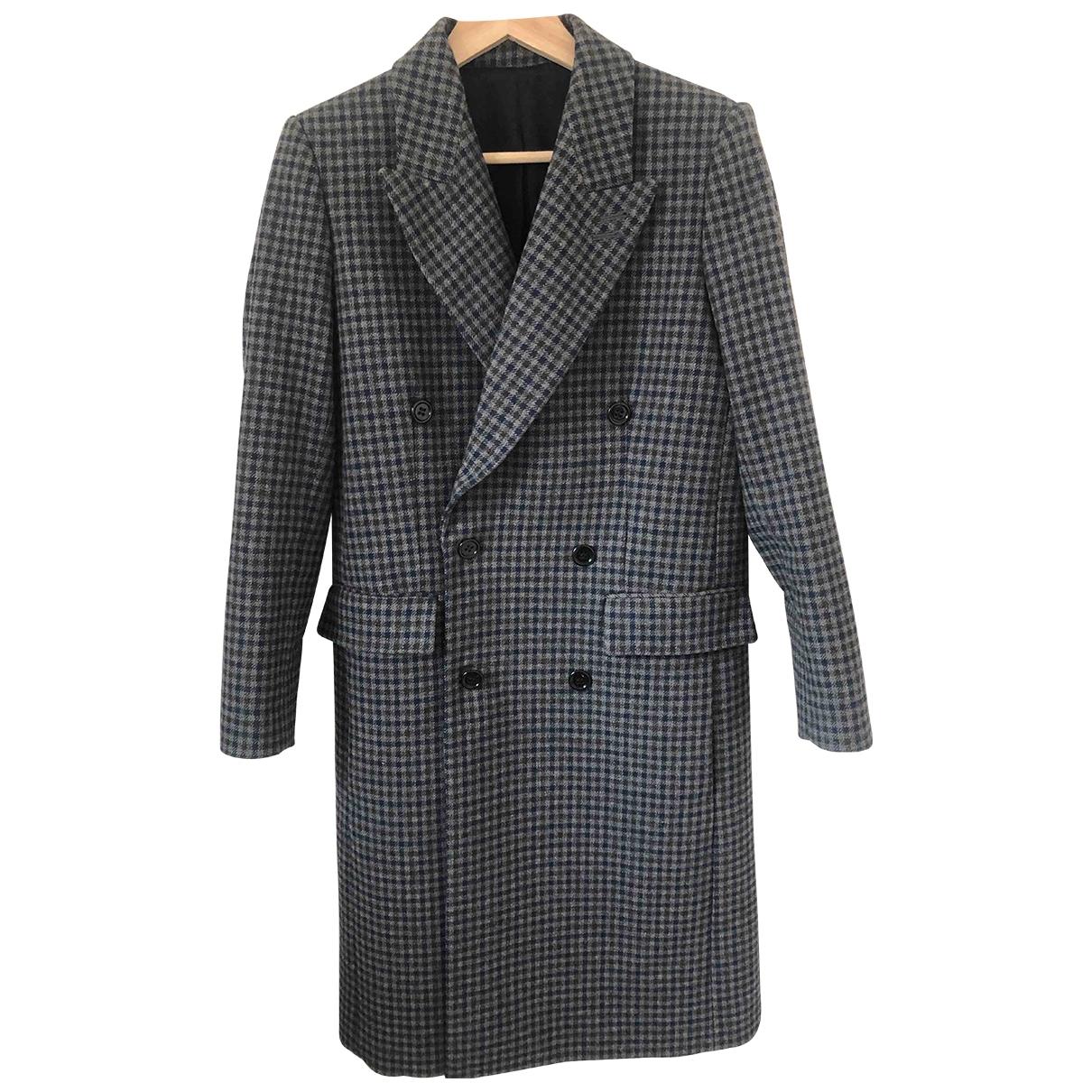 The Kooples Fall Winter 2019 Grey Wool coat for Women 36 FR