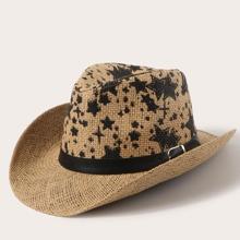 Boys Star Pattern Straw Hat