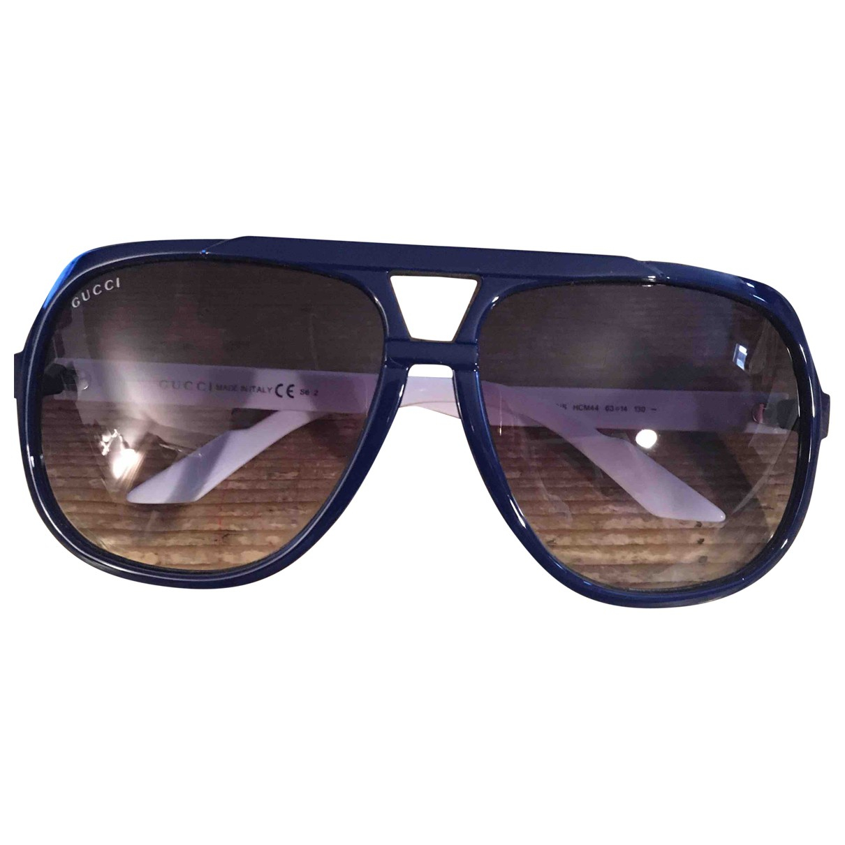 Gucci \N Blue Sunglasses for Men \N
