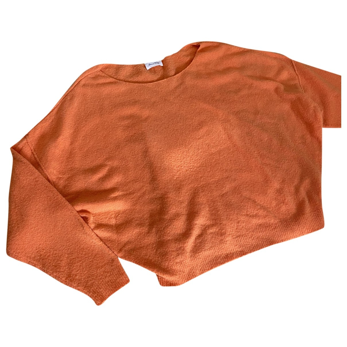 American Vintage \N Orange Wool Knitwear for Women S International