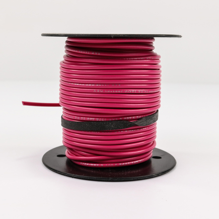 Power Products EL616250 - Gpt Primary Wire   Pink, 16 Ga, 100' Roll