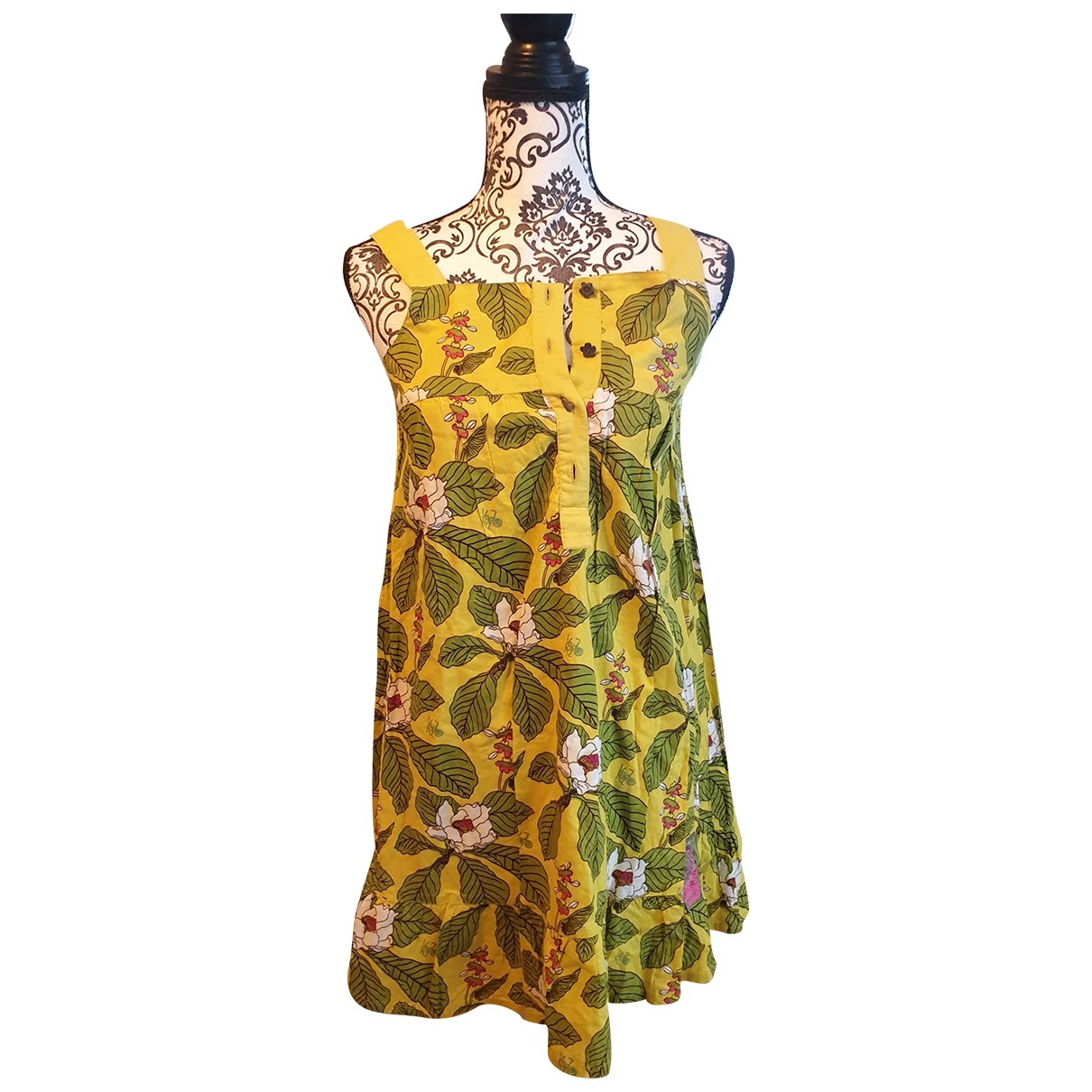 Kenzo \N Multicolour Cotton dress for Kids 14 years - S FR