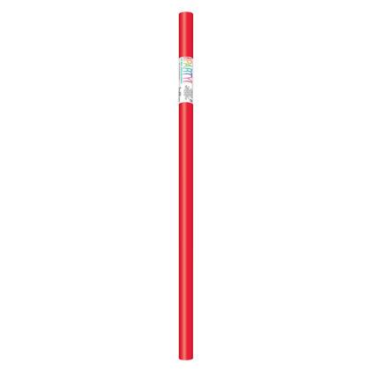 Papier cadeau rouge rubis, 30 po x 5 pi