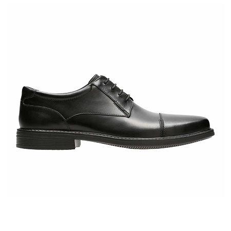 Bostonian Mens Wenham Oxford Shoes, 10 1/2 Wide, Black