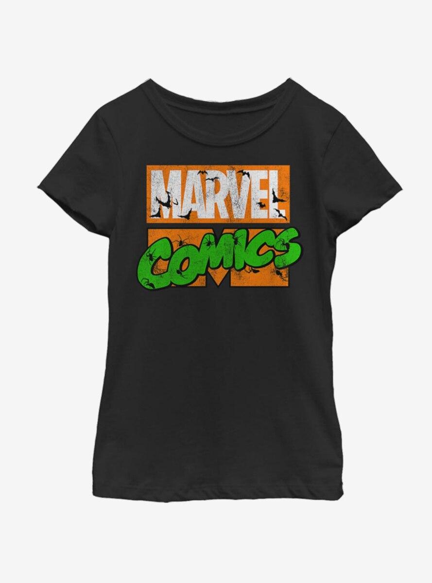 Marvel Spooky Logo T-Shirt