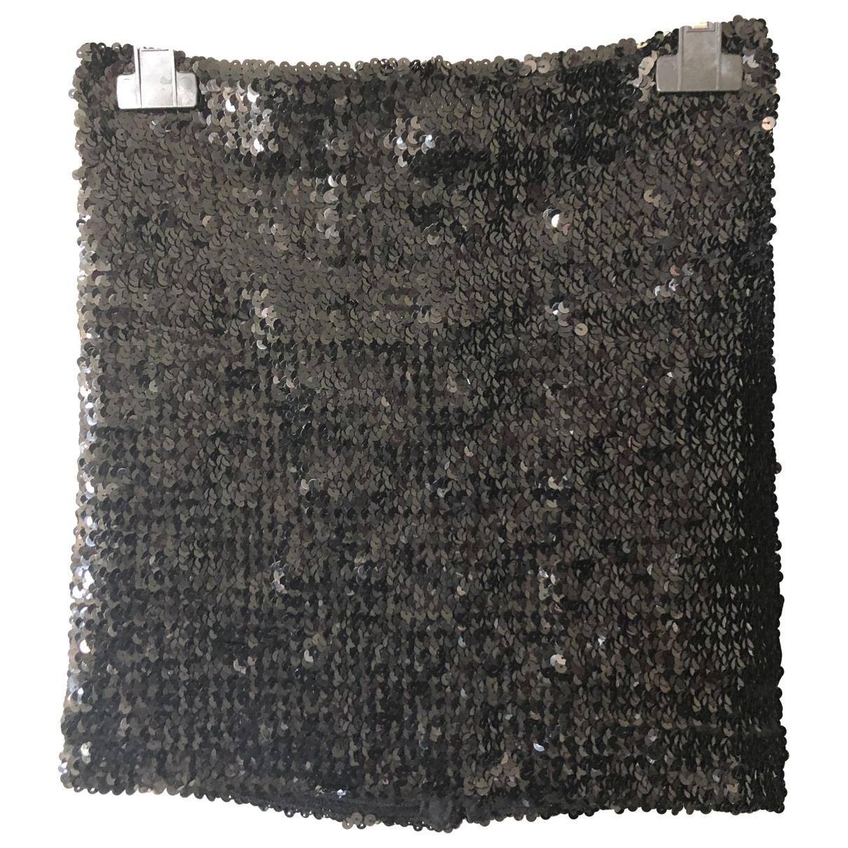 Asos \N Black Glitter skirt for Women 38 FR