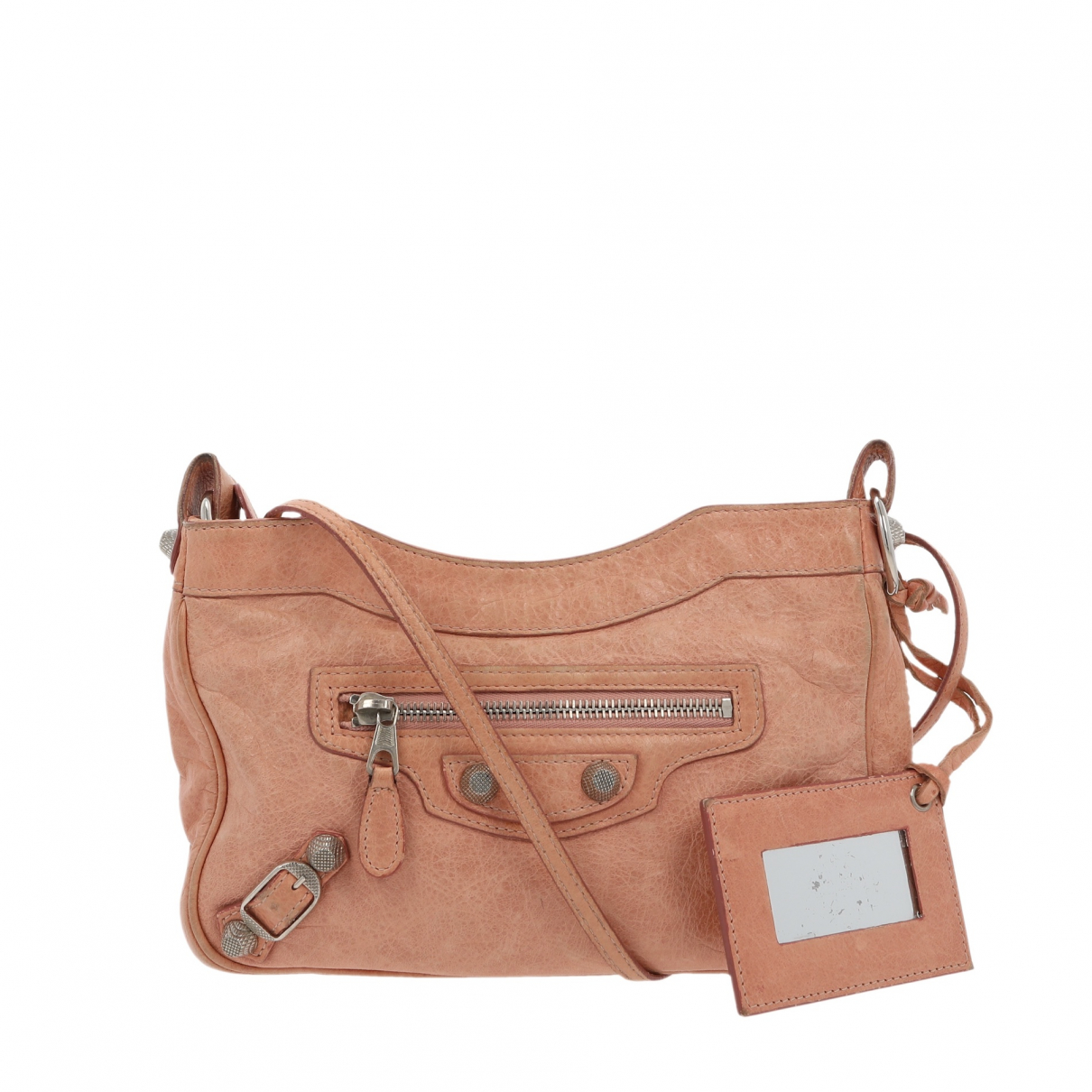 Balenciaga \N Pink Leather handbag for Women \N
