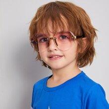 Kids Rimless Sunglasses