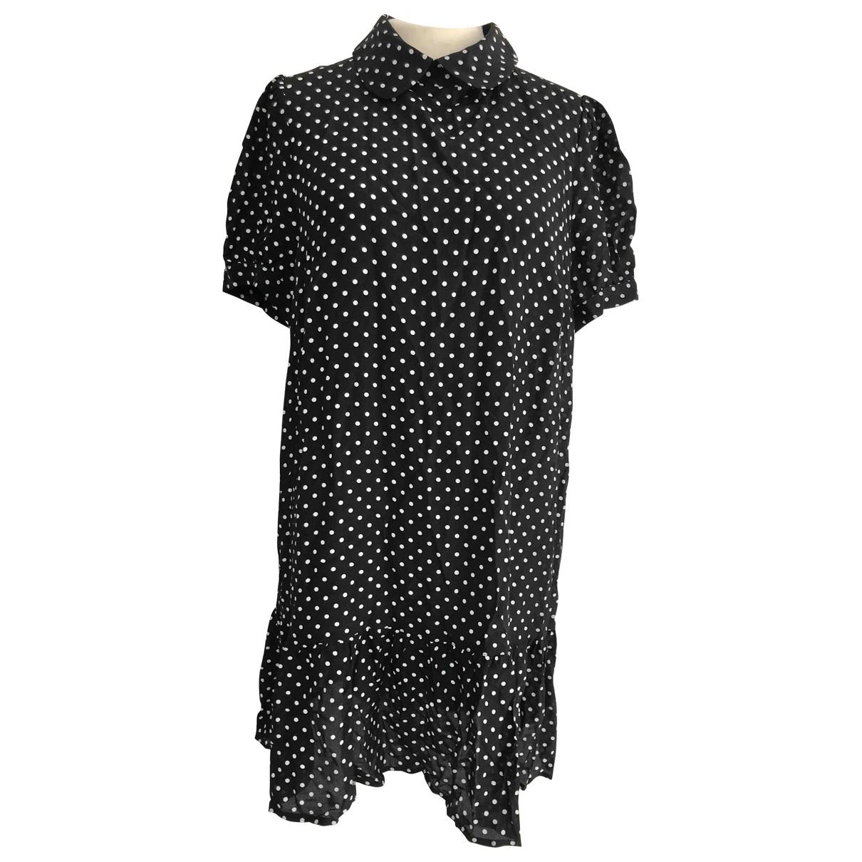 Tara Jarmon \N Black Silk dress for Women 42 FR