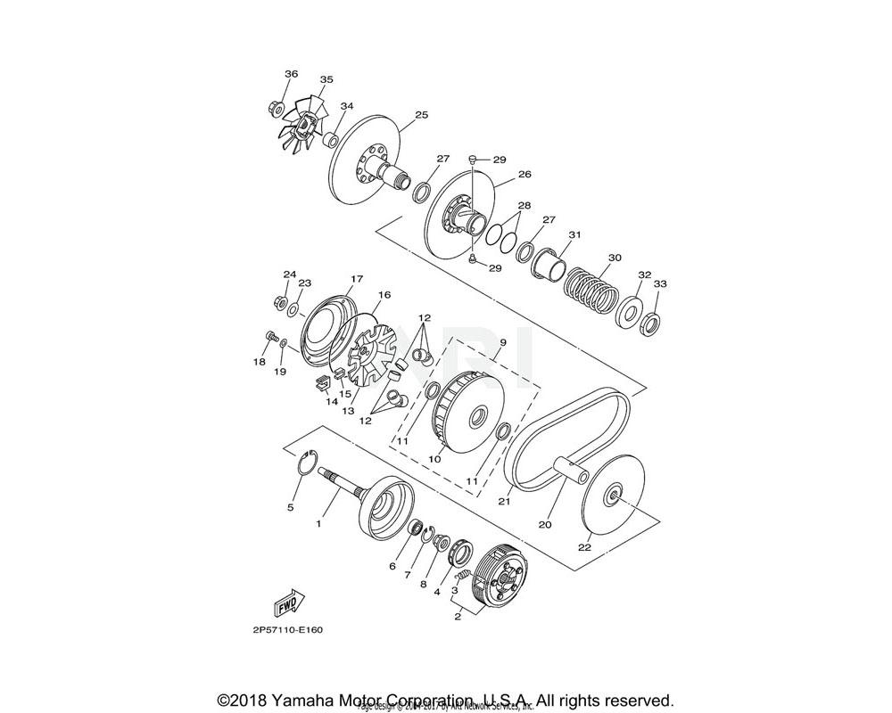 Yamaha OEM 5GH-17632-00-00 WEIGHT
