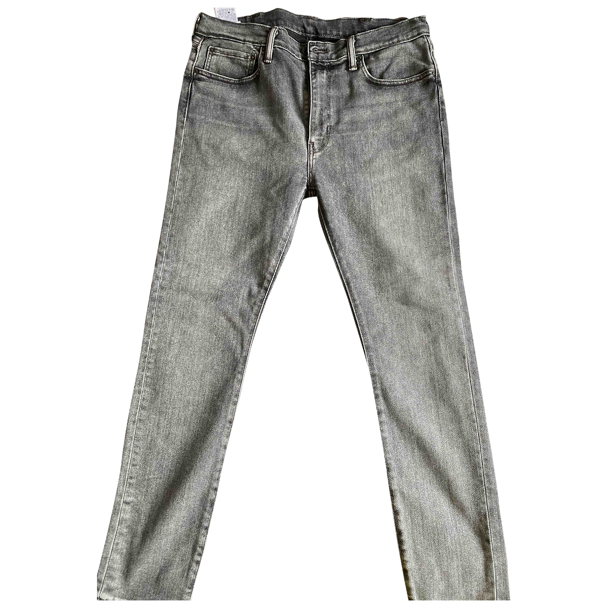 Levi's \N Anthracite Cotton Jeans for Men 36 US