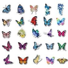 50pcs Butterfly Sticker