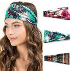 Bohemian Yoga Sports Wide Headband