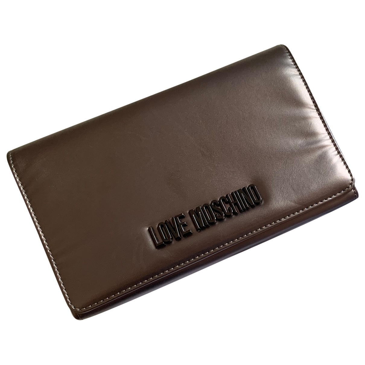 Moschino Love \N Metallic Clutch bag for Women \N