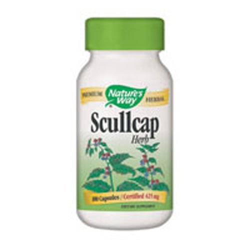 Scullcap 100 Caps by Nature's Way