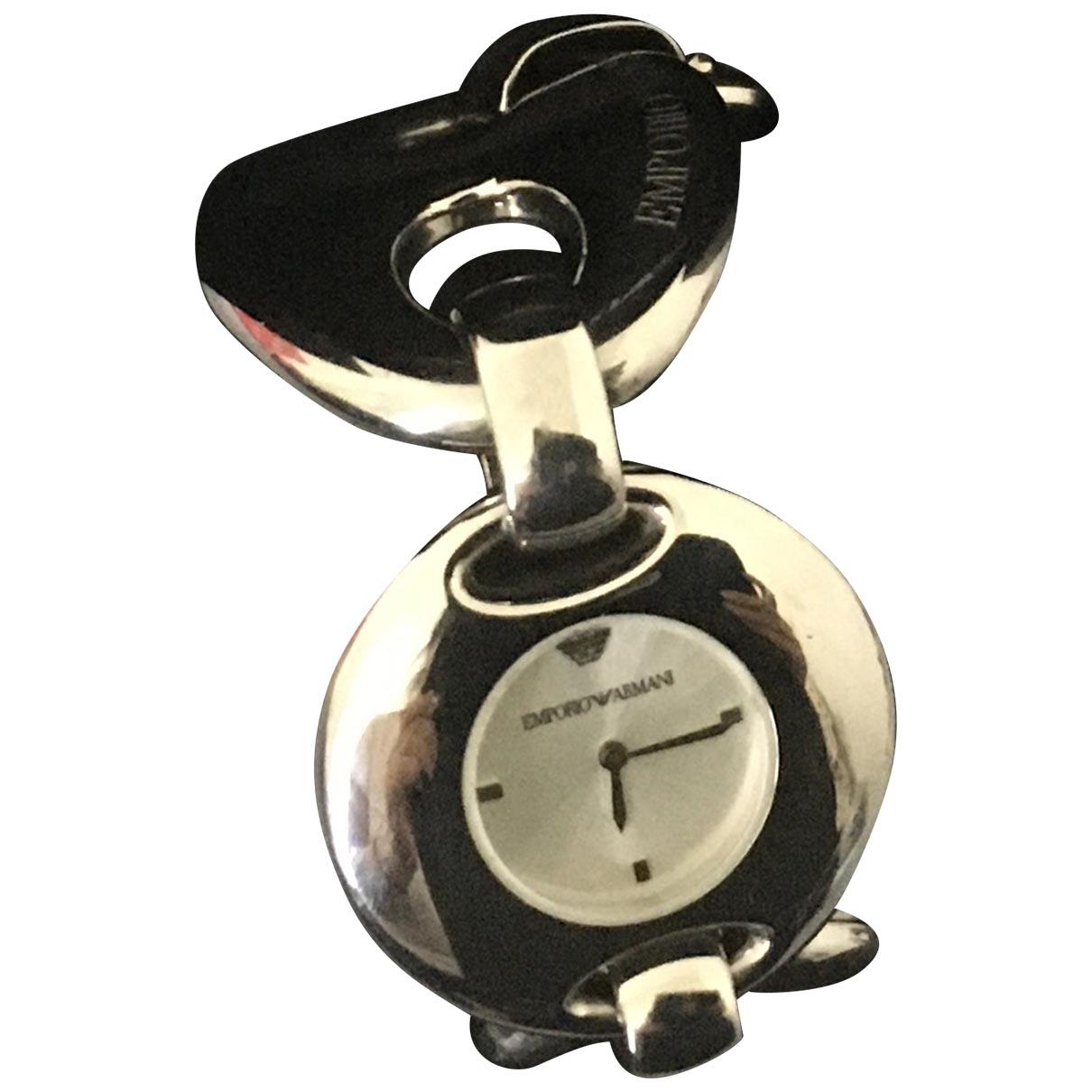 Emporio Armani \N Silver Steel watch for Women \N