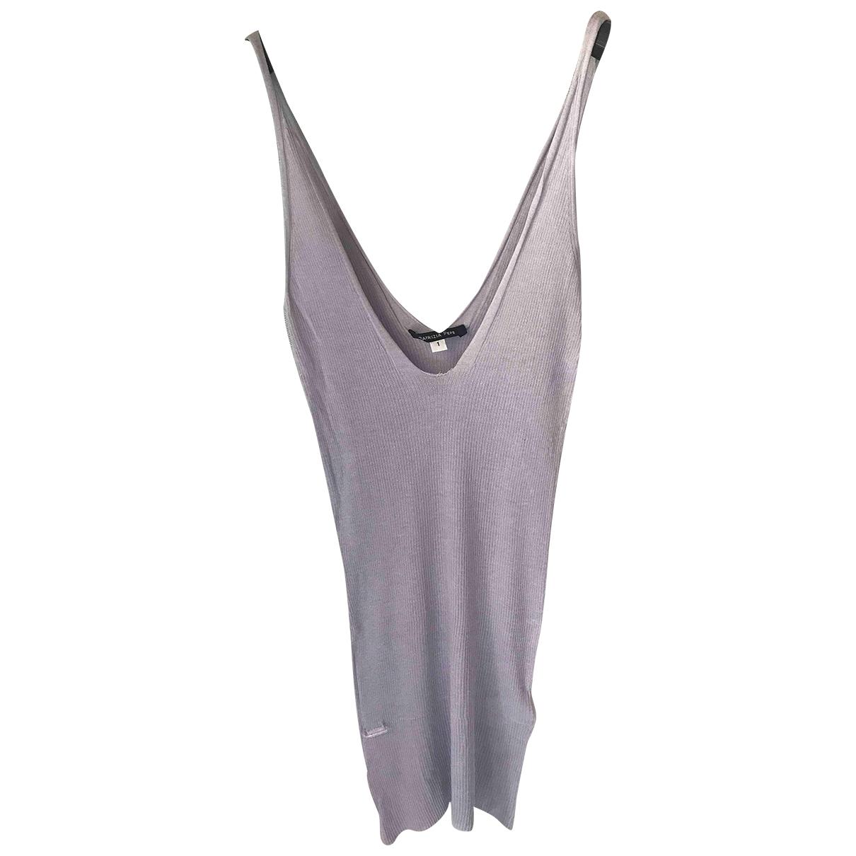 Patrizia Pepe \N Purple Cotton  top for Women 38 IT