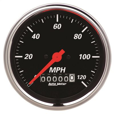 Auto Meter Designer Black Electric Programmable Speedometer - AMG1479