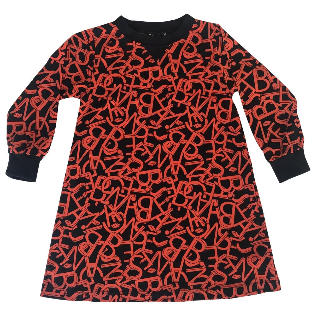 Agnès B. \N Black Cotton dress for Kids 4 years - up to 102cm FR