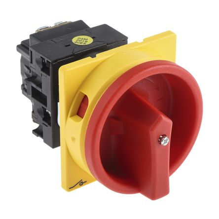 Eaton 2 Pole Panel Mount Non Fused Isolator Switch - 20 A Maximum Current, 6.5 kW Power Rating, IP65